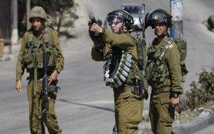 Efectivos del Ejército de Israel.