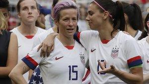 Les futbolistes dels EUA apel·laran contra la sentència que rebutja la igualtat