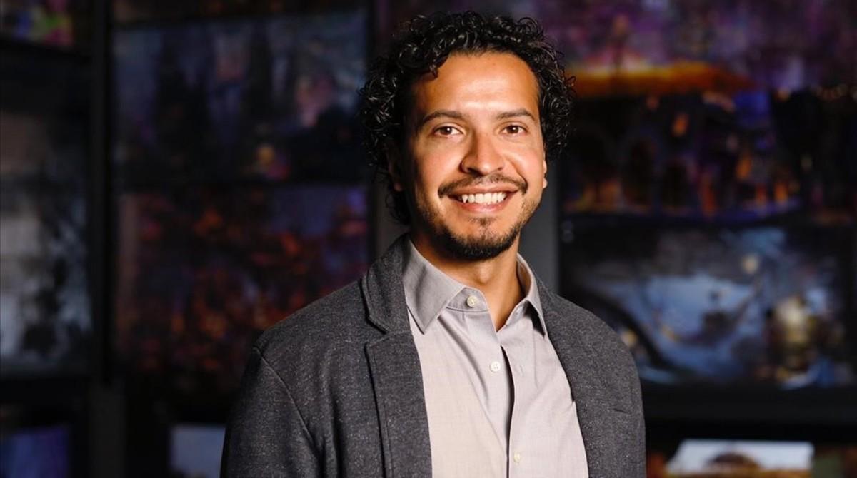 Jesus Martinez, gerente de Animación de los estudios Pixar.