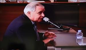 Andreu Viloca, extesorero de CDC, durante su declaración.