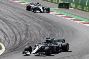 Lewis Hamilton en el GP de Austria