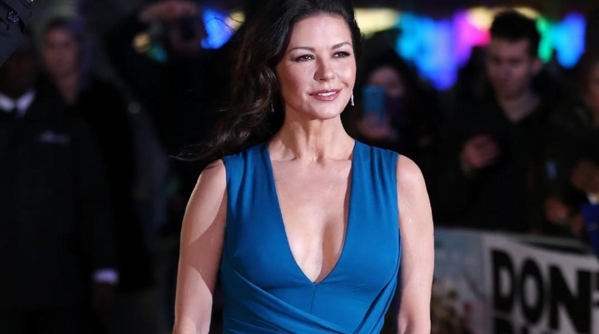 La actriz Catherine Zeta-Jones.