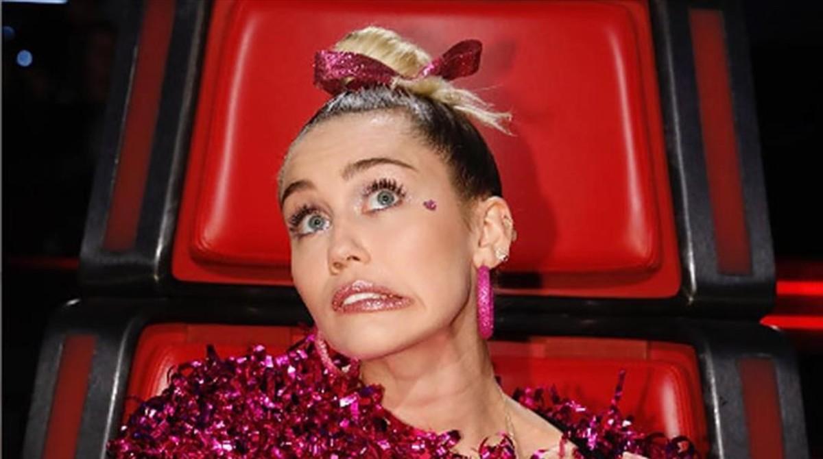 Filtrats els nus de Miley Cyrus i altres celebritats