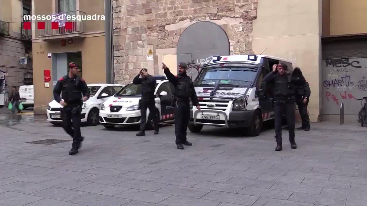 Los Mossos de Esquadra inician, hoy, el dispositivo Ubiq para aumentar la seguridad en el distrito de Ciutat Vella.