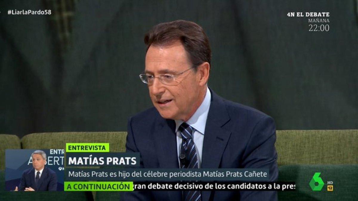 """Matías Prats habla de su peor momento en 'Liarla Pardo': """"Pensé que ya me retiraba"""""""
