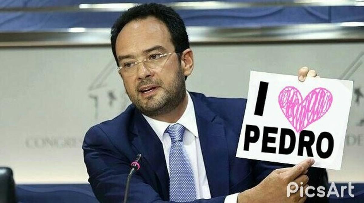 Meme sobre Antonio Hernando