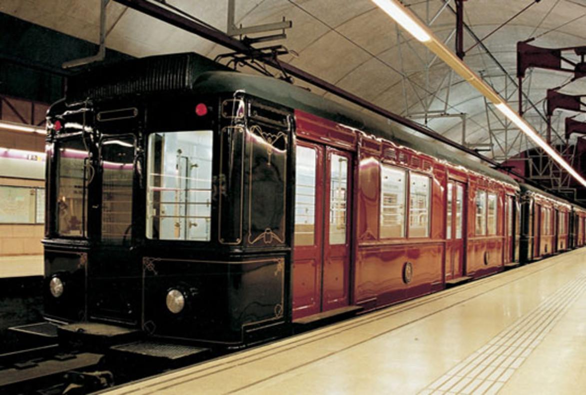 Metro histórico de TMB.
