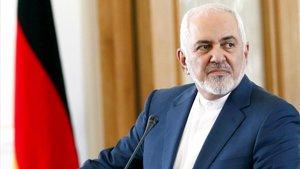 El ministro de Exteriores de Irán, Mohamad Yavad Zarif, en una imagen de archivo.