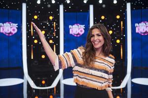 Nuria Roca, presentadora de Fantastic Duo, el nuevo concurso musical de TVE-1.