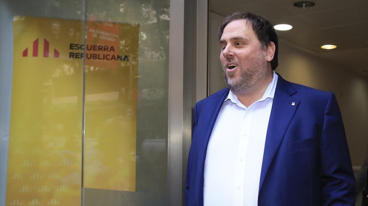 Oriol Junqueras, president de ERC