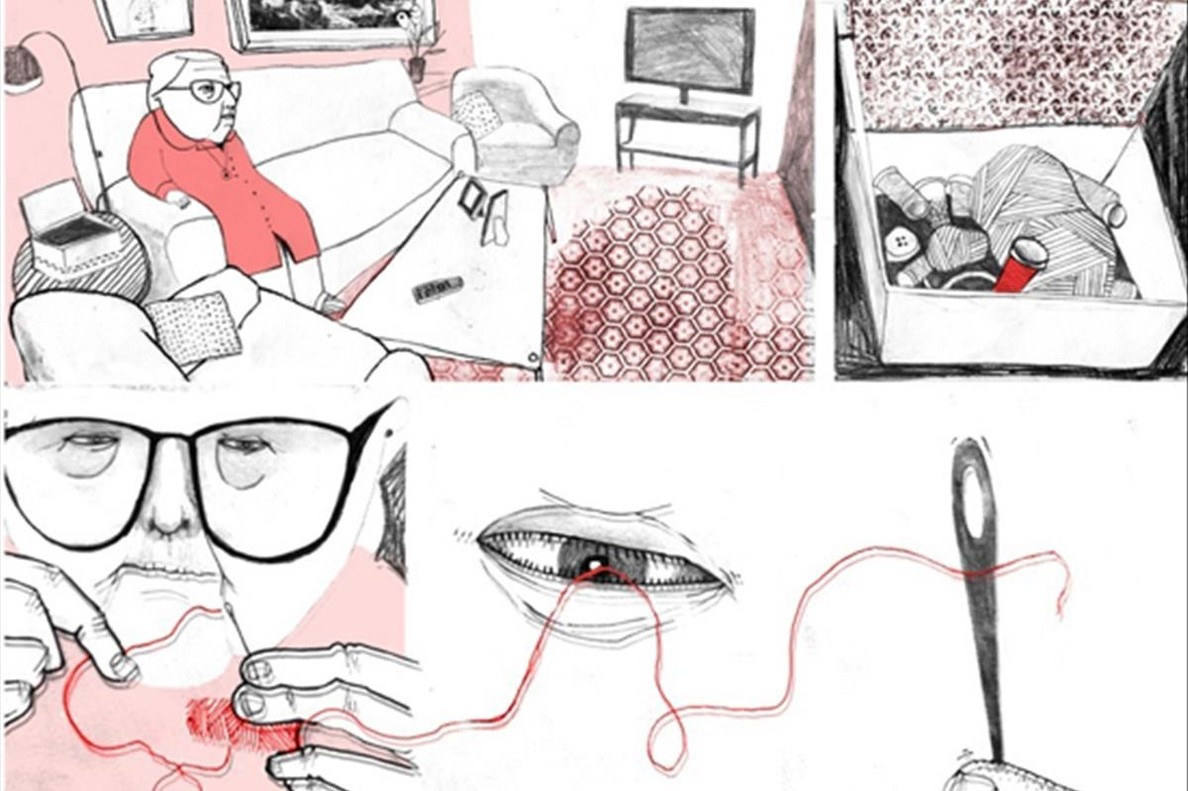 Página de Estamos todas bien, de Ana Penyas.