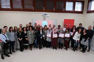 Participantes del programa 'Dones per l'Ocupació' de Gavà.