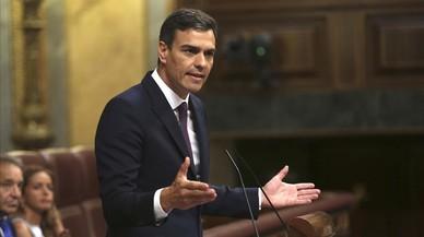 Pedro Sánchez, viajante de comercio