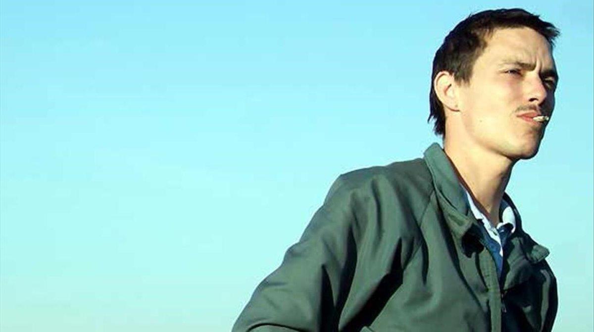 Gérald Thomassin, en una secuencia del filme 'Le Premier venu'.