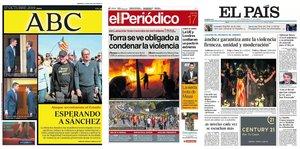 Prensa de hoy: Las portadas de los periódicos del jueves 17 de octubre del 2019