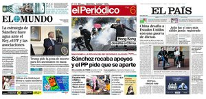 Prensa de hoy: Las portadas de los periódicos del martes 6 de agosto del 2019