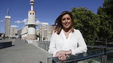 """El PSOE-A de Susana Díaz pasa por alto la España """"plurinacional"""" de Sánchez"""
