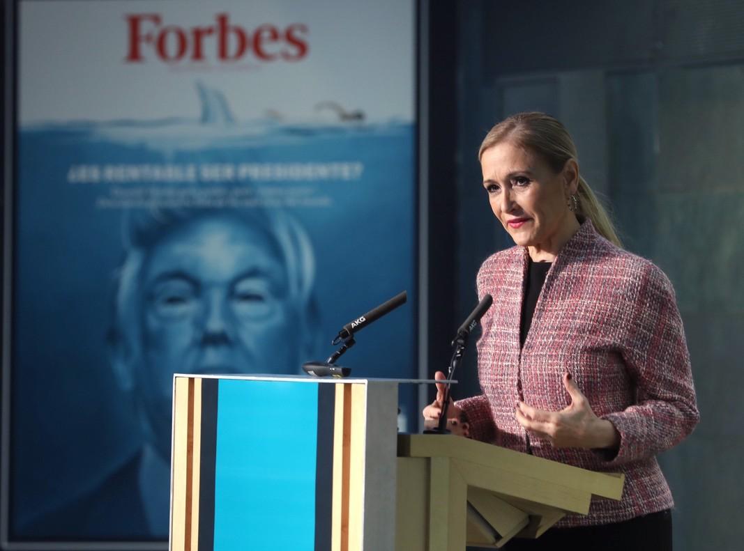 La presidenta de la Comunidad de Madrid, Cristina Cifuentes, el pasado 13 de marzo.