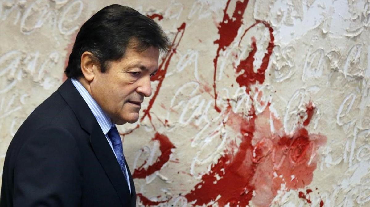 El presidente de la gestora del PSOE y presidente de Asturias, Javier Fernández.