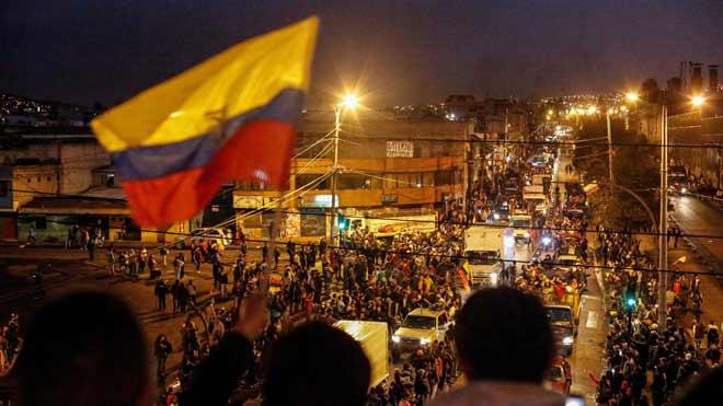 Toc de queda parcial a l'Equador després de l'assalt al Parlament