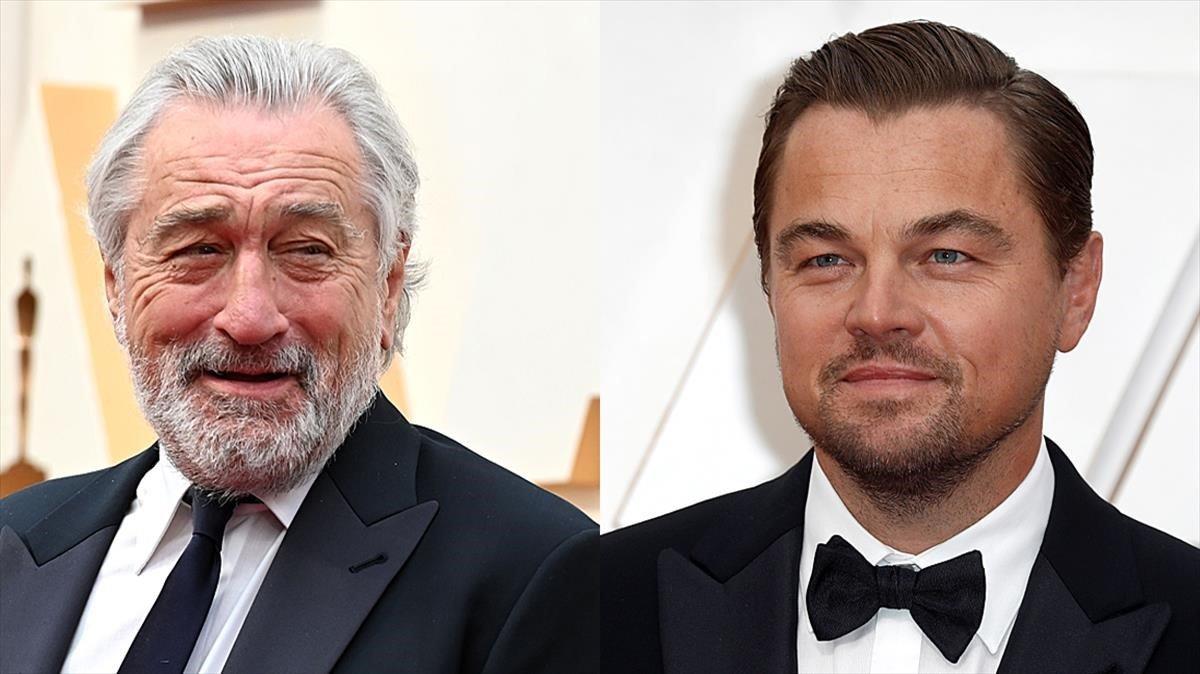 Robert de Niro y Leonardo DiCaprio.