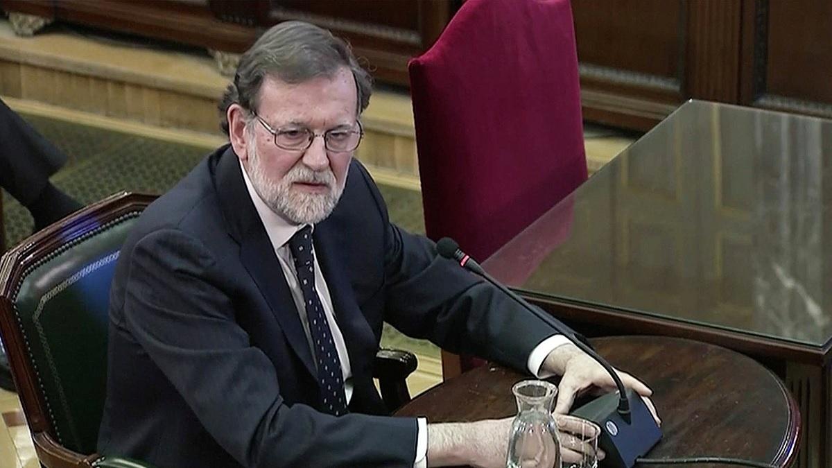 Rajoy: Escuché a Urkullu y le dije que no estaba dispuesto a negociar.