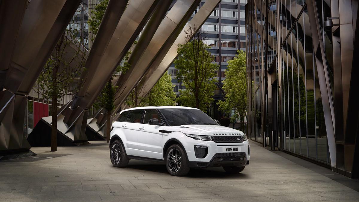 El range Rover Evoque, nacido para la ciudad.