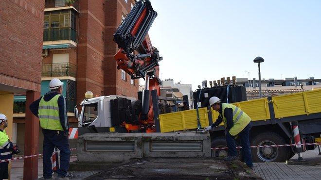 Reparación de un generador eléctrico en Viladecans.