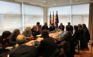Reunión entre Generalitat y Ayuntamiento de Badalona sobre la C-31