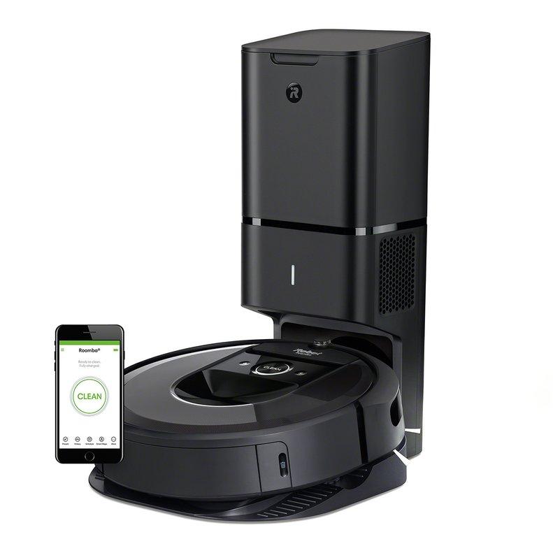 Nuevo robot aspirador de Roomba con autolimpieza.