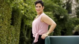 Rosa López, en Madrid, durante la presentación del reality Soy Rosa, que TEN estrena el 26 de junio.