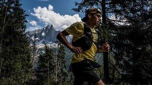 Pau Capell, en un momento de la prestigiosa Ultra Trail del Montblanc.