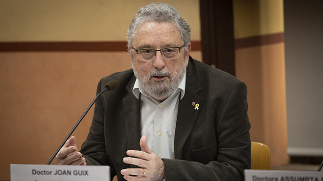 Rueda de prensa de Salut sobre el primer caso de coronavirus en Catalunya