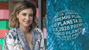 Sandra Barneda, finalista del Premio Planeta 2020.