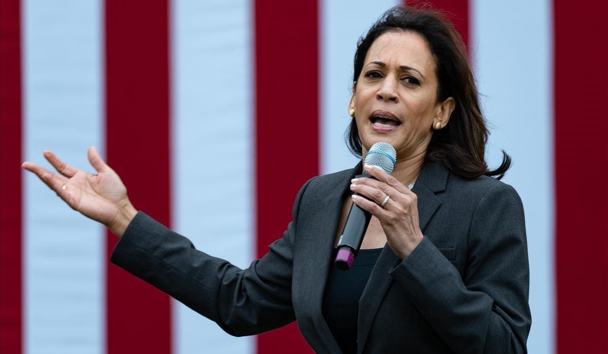 La senadoray excandidata demócrataKamala Harris.