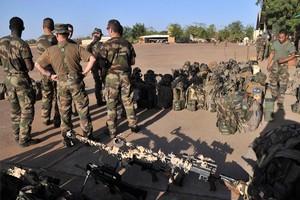 Soldados franceses en Malí.