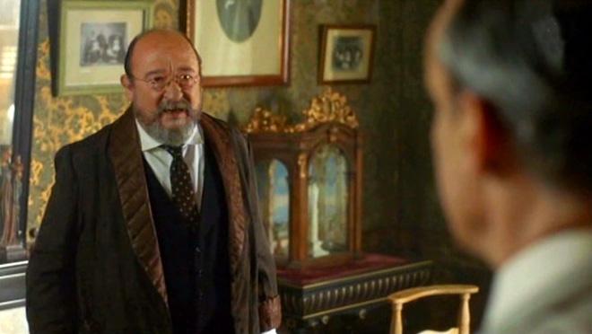 El marqués deLloberola(PepCruz), en Vida privada (TV-3).