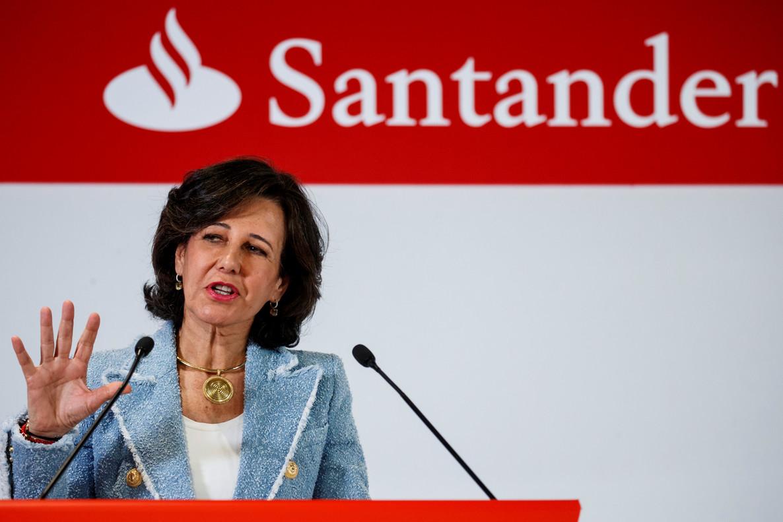 La presidenta de Banco Santander,Ana Botín, en una imagen de archivo.