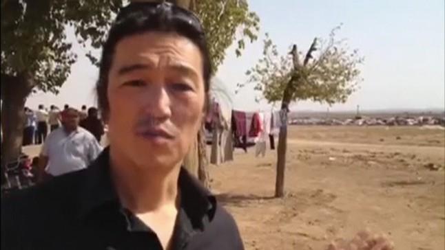 El reportero japonés Kenji Goto.