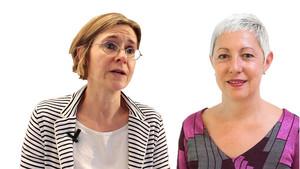 Susanne Gratius y Anna Ayuso
