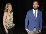 PAREJA CONSOLIDADA. Rocío Carrasco y su pareja, Fidel Albiac.