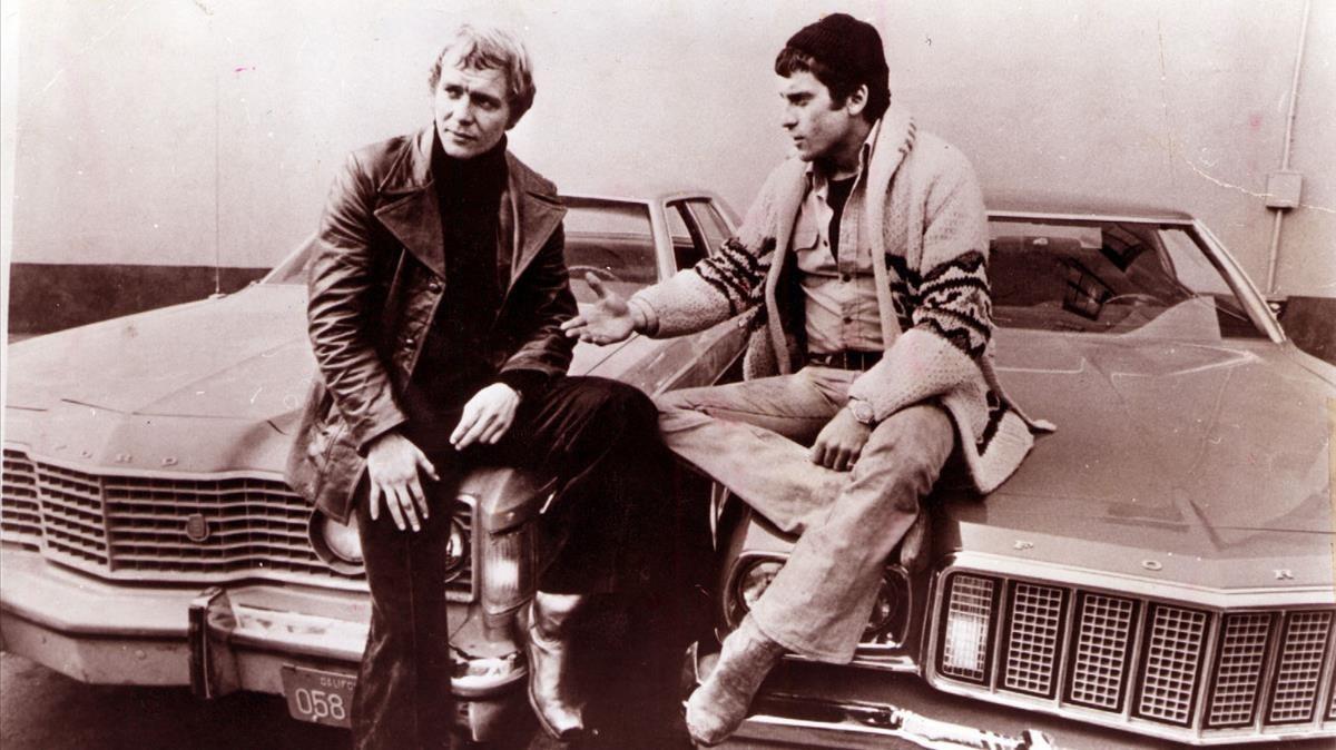 Los actoresDavid Soul y Paul Michael Glaser, protagonistas de la serie Starsky y Hutch.