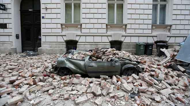 Un terratrèmol de 5,3 graus causa almenys una mort a Zagreb