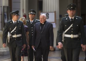 El ya exarzobispo de Santiago de Chile, el cardenal Ricardo Ezzati, en el 2015.