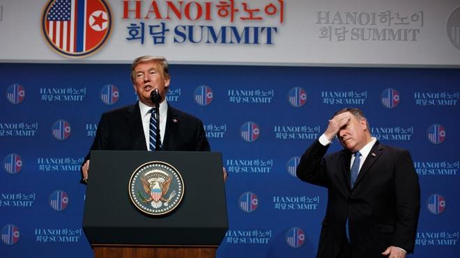 Trump: Corea del Norte no está lista para renunciar a su programa nuclear.