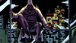 Una viñeta de 'Watchmen', dibujada por Dave Gibbons