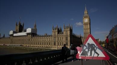 Una dècada d'obres multimilionàries per salvar el Palau de Westminster