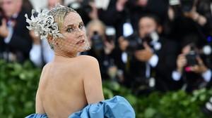 La actriz alemana Diane Kruger en la Met Gala del 7 de mayo del 2018.
