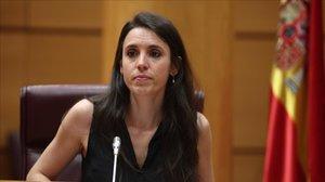 Irene Montero anuncia la derogació de la llei de l'avortament del 2015