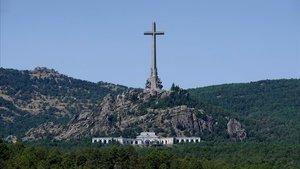 Valle de los Caídos, en el paraje de Cuelgamuros de San Lorenzo de El Escorial (Madrid).